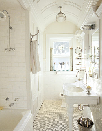 White bathroom MKOVR0405 de 62997652 HALL BATHROOM RENO INSPIRATION