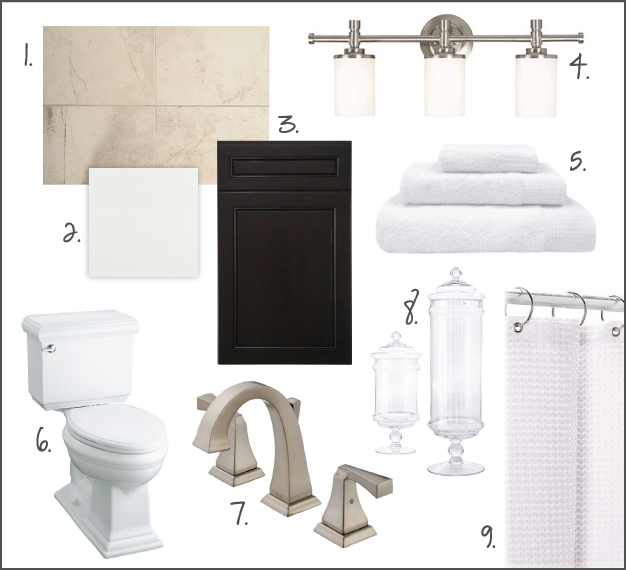bathroom moodboard HALL BATHROOM RENO INSPIRATION