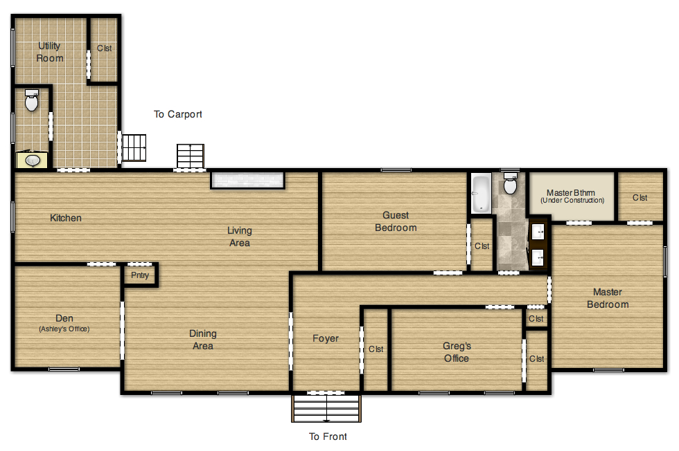 Hardwood Floor Layout springdale bruce engineered hardwood flooring Updated Floor Plan