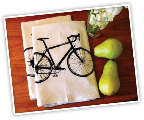 bike towel ETSY THURSDAY: KITCHEN EDITION