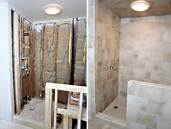 bathroomshower MASTER BATHROOM RENOVATION: PART 2