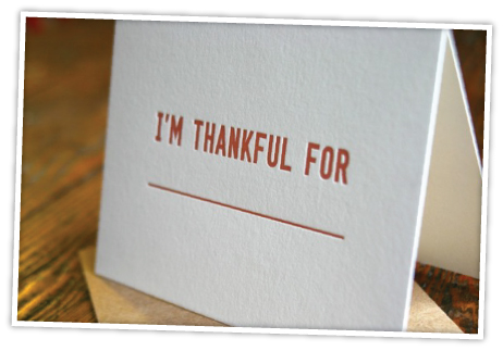 thankfulcards ETSY THURSDAY: THANKSGIVING EDITION
