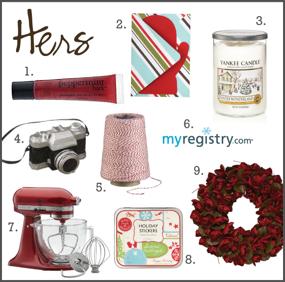 hers favorites december HIS + HER FAVORITE THINGS