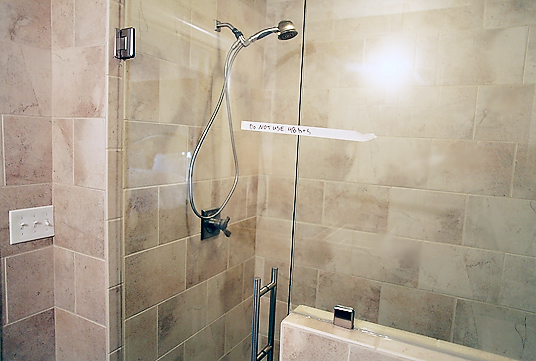 shower2 MASTER BATHROOM RENOVATION: PART 3