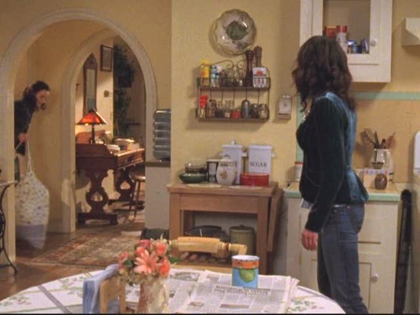 Lorelais kitchen 5 611x4581 AN UNEXPECTED PIECE OF TV HISTORY