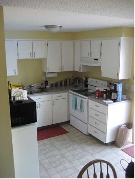 beforekitchen1 READER RENO: EMILYS IKEA KITCHEN
