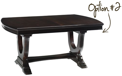 copleysquaretable VIRTUAL SHOPPING: DINING ROOM TABLE