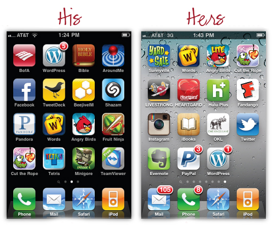 his hers iphone