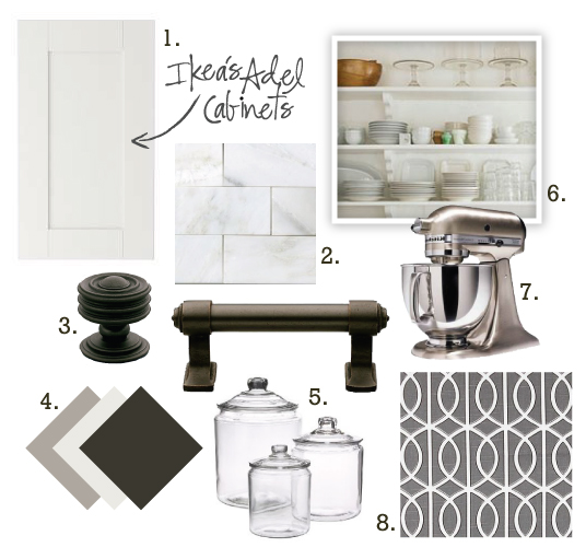 kitchen mood board
