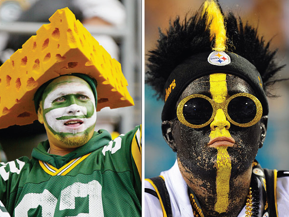 packerssteelersfans SUPER BOWL STYLE