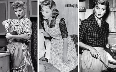50saprons CHANNELING YOUR INNER DONNA REED
