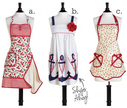 aprons1 CHANNELING YOUR INNER DONNA REED