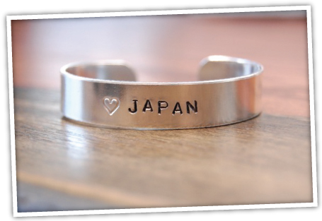 help japan bracelet ETSY THURSDAY: HELP JAPAN