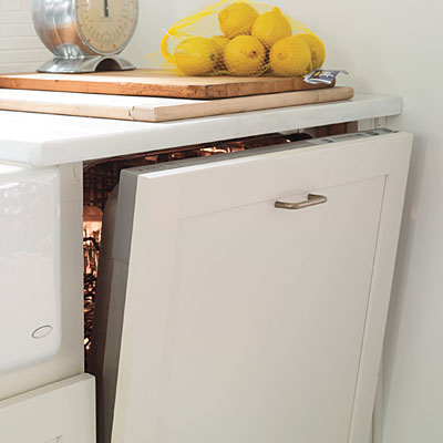 dishwasher cabinet
