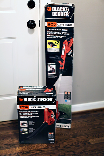 blackanddeckertools GIVEAWAY: BLACK & DECKER YARD TOOLS