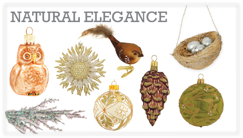natural rustic christmas ornaments