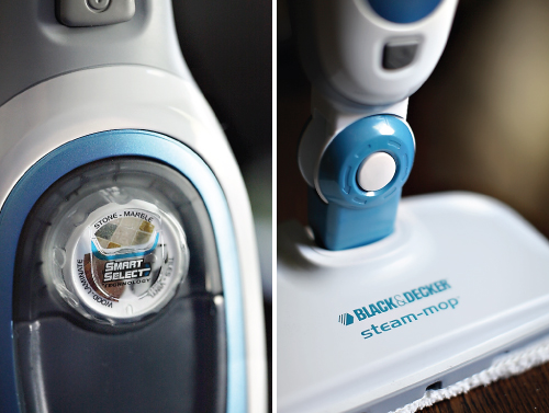 steammop2 GIVEAWAY: BLACK & DECKER STEAM MOP