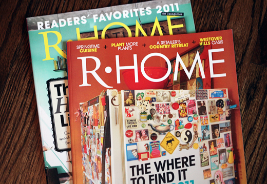 rhomemagazine OUR HOME IN R HOME