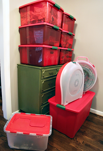 christmasdecorationboxes WRECKING THE WALLS + DECKING THE HALLS