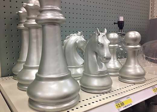 Our date night shopping trip 7th house on the left - Ornamental chess sets ...