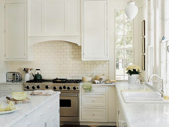 whitekitchen2 COUNTERTOPS, TILE, & GROUT, OH MY!
