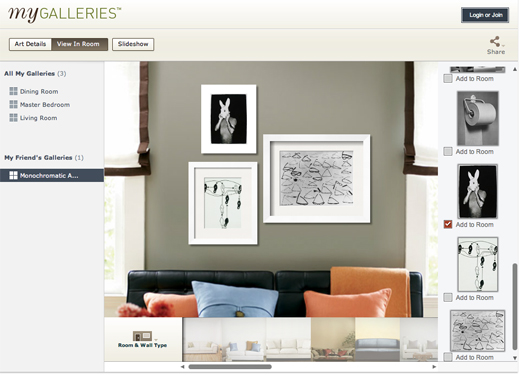 mygalleries ONLINE DESIGN TOOL FAVORITES