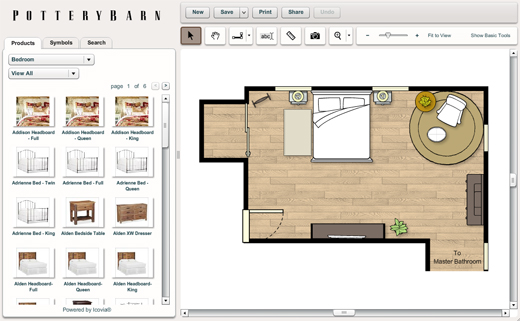 Online design tool favorites 7th house on the left for Online bedroom planner
