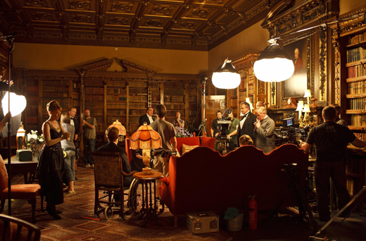 bts library22 ON THE SET: DOWNTON ABBEY