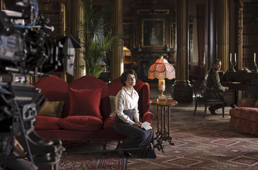 bts musicroom ON THE SET: DOWNTON ABBEY