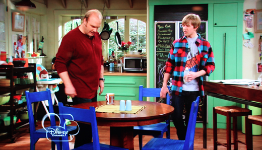 On The Set Good Luck Charlie 7th House On The Left