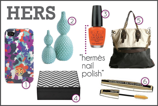 gift ideas for her, hermes nail polish