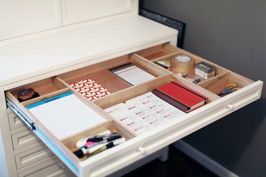 martha stewart craft furniture drawers inside