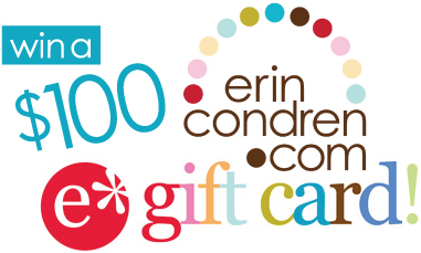 erincondrengiftcard GIVEAWAY: $100 ERIN CONDREN GIFT CARD