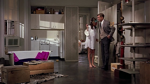 breakfastattiffanysapartment ON THE SET: BREAKFAST AT TIFFANYS