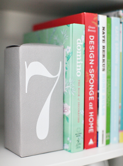 brickbookend CRAZY SIMPLE DIY BOOKENDS