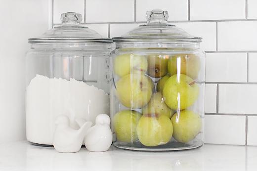 countertop jars