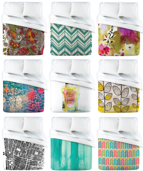 denyduvetcovers GIVEAWAY: DENY DESIGNS CUSTOM DUVET