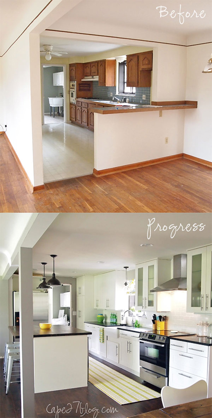 BeforeAfter11 READER RENO: JESSIES KITCHEN RENOVATION