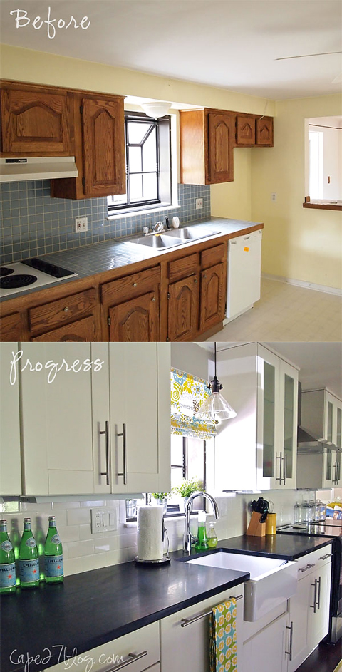 BeforeAfter21 READER RENO: JESSIES KITCHEN RENOVATION