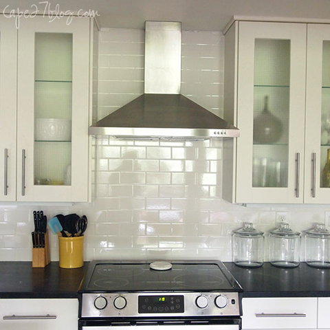 Range READER RENO: JESSIES KITCHEN RENOVATION