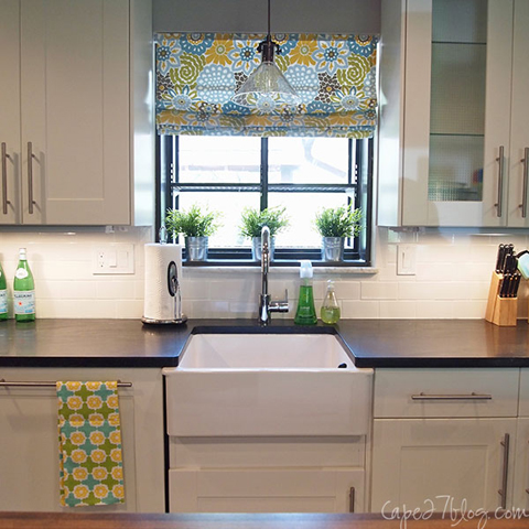 SinkFront READER RENO: JESSIES KITCHEN RENOVATION