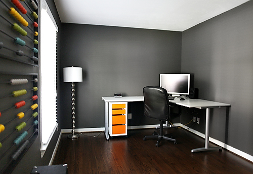 Dark Gray Wall Color 500 x 343