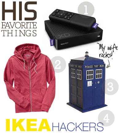 hisfavoritethings HIS + HER FAVORITE THINGS