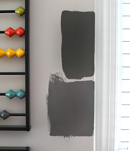 Gray Paint Swatches  |  7th House on the Left
