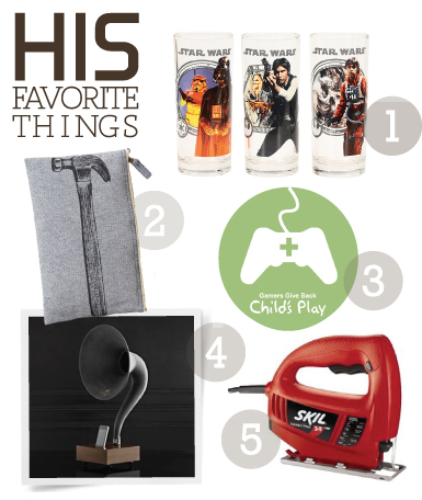 favethings his HIS + HER FAVORITE THINGS