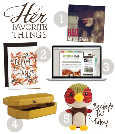 herfavoritethings october HIS + HER FAVORITE THINGS