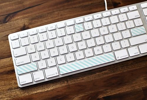 washikeyboard 7 WAYS TO USE PAPER TAPE