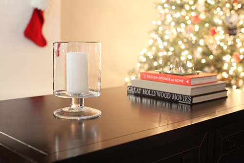 candlecoffeetable DIY HOLIDAY VASE FILLER