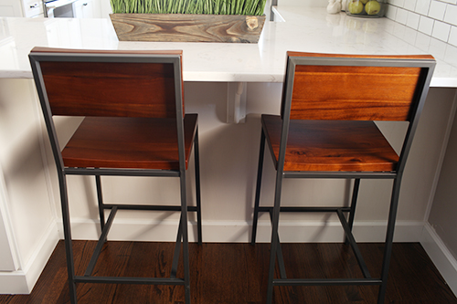 Kitchen Barstools from West Elm / 7th House on the Left