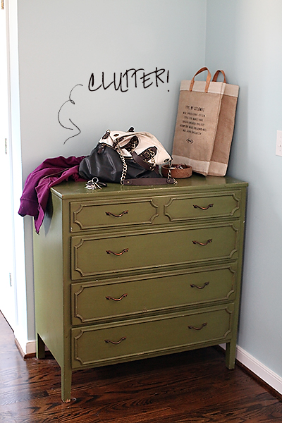laundryroomclutter DIY COAT RACK + LAUNDRY ROOM UPDATE